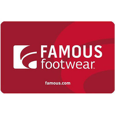 Buy a $50 Famous Footwear Gift Card for only $40 - Fast email delivery