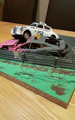 banger racing scene diecast modified 1/24 scale very rare