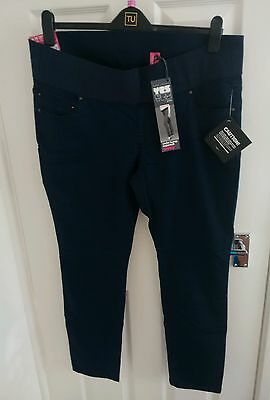 New Look Ladies Supersoft Skinny Maternity Jeans Size 16 BNWT.