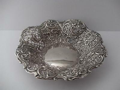 BEAUTIFUL STERLING SILVER BON BON TRAY DISH Birmingham 1896
