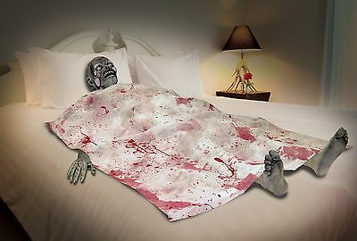 Bloody Death Bed Zombie Halloween Party Decoration One Size