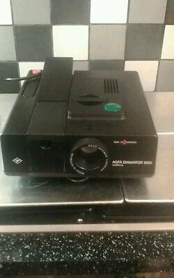 Slide projector AGFA Diamator 1500 with remote