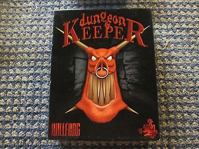 Dungeon Keeper By Bullfrog PC Game