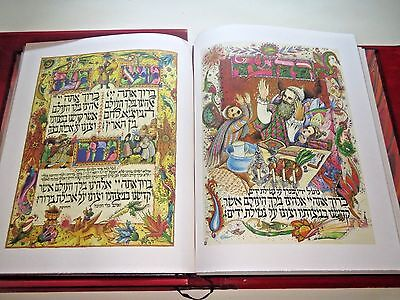 Magnificent Passover Haggadah Besançon Amazing illustrations Signed Copy HEBREW