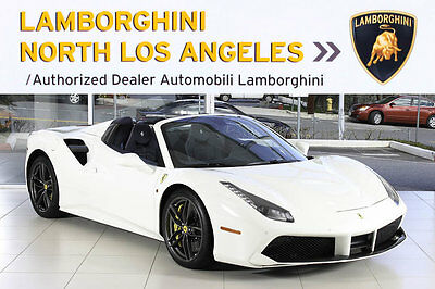 2016 Ferrari 488 Spider  $372 WINDOW +CARBON FIBER+TURBO CHARGED+LIFTER+ BACK UP CAMERA+CONTRAST STITCH