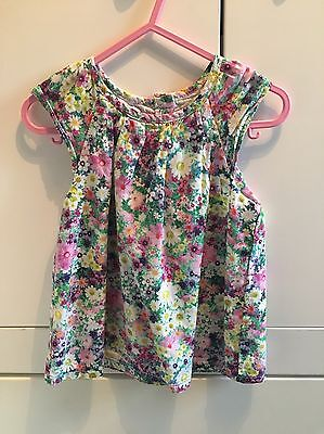 Mothercare Girls top Flowers.  Age 1.5-2 years