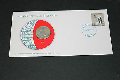 Haiti Coins Of All Nations 1975 50 Cent Coin Unc