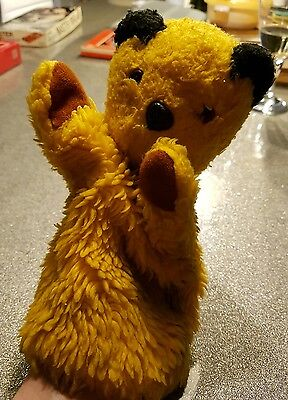 VINTAGE 1950s 1960s CHAD VALLEY SOOTY GLOVE PUPPET SOFT TOY