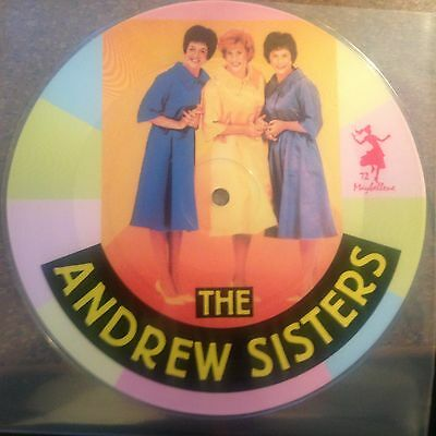 7'PICTURE Andrews Sisters  Rum and Coco Cola/Bei mir...   50's GOLD/Maybellene