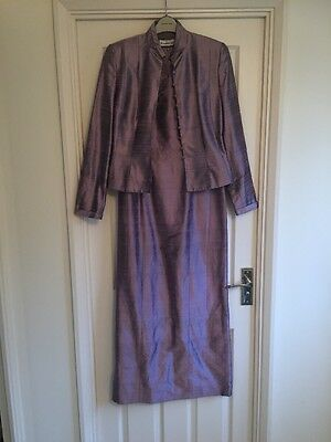 Condici Dress & Jacket. Size 10. Lilac. Worn Once. Mother Of The Bride. Ex Cond.