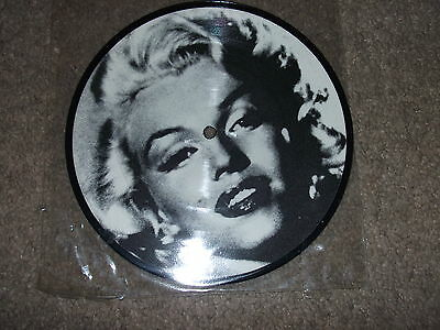 """Marilyn Monroe Picture Disc 7"""" Single Record Vinyl Lp Cd When I Fall In Love"""