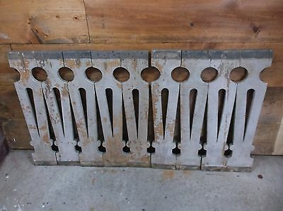 9 Antique Architectural Salvage Wood Spindles Balusters Porch Railings Victorian