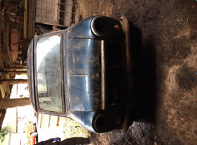 Barn find project restoration mini mayfair 1984 Re listed due to non payment