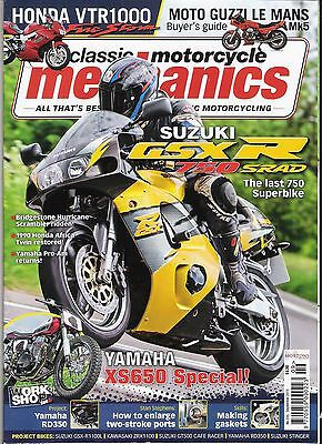 Classic Motorcycle Mechanics magazine mint condition September 2015 No.335