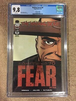Walking Dead #99 2nd Print Negan Lucille Connecting Cover Image Comics CGC 9.8