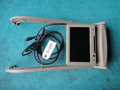 06-09 Mercedes Gl350/450 X164 Oem Tan Rear 2Nd Row Seat Central Dvd Tv Monitor