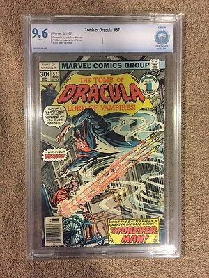 The Tomb Of Dracula #57 Marvel Comics 1977 CBCS 9.6 White Pages