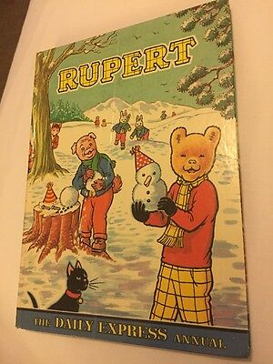 Daily Express Rupert Bear Annual 1974 Excellent Condition with Price