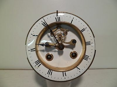 French Open Escapement Marti 8 Day Time and Strike Clock Movement