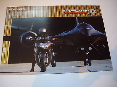 Honda CBR1100 XX Super Blackbird sales brochure