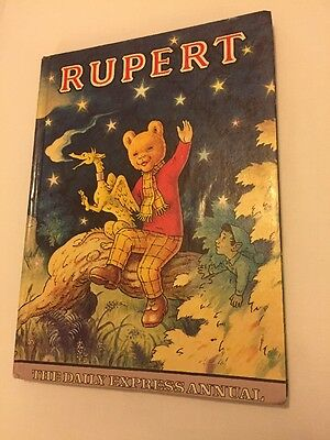Vintage Original 1979 Rupert Bear Annual Very Nice Condition Unclipped Price