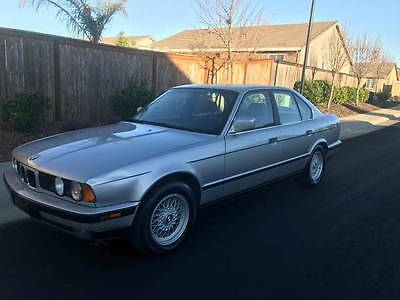 1990 BMW 5-Series  1990 bmw 535i E34 RARE 5 SPEED MANUAL LOW MILES CLEAN TITTLE