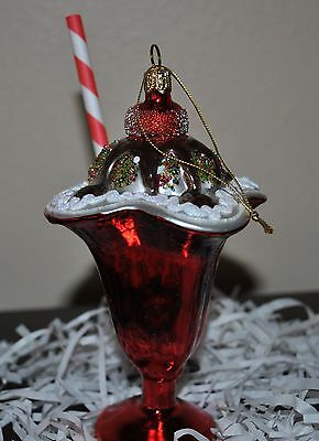 NEW SUR la TABLE CHILI PEPPER RED Glass Blown Ornament Food Vegetable Poland