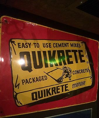 Quikrete Sign