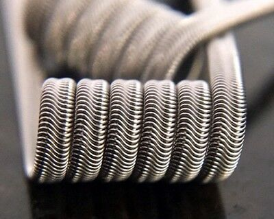 SALE! 2 Mad Rabbit Competition N80 Wire 6 Wrap Alien Coils + Free Coils/Cotton