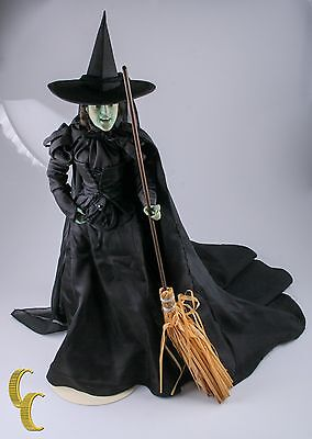 Wicked Witch of the West Franklin Mint Heirloom Porcelain Doll Wizard of Oz