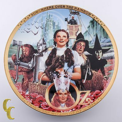 50th Anniversary Wizard Of Oz Hamilton Collection Plate- Fifty Years of Oz
