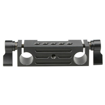 CAMVATE Rod Clamp 15mm Rail block For DSLR 15mm Rail Rig Rod Support System