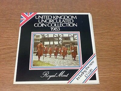 1983 Royal Mint UK uncirculated Coin Collection