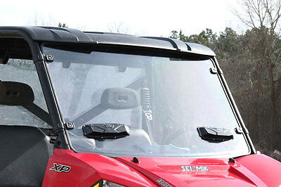 POLARIS RANGER MIDSIZE 400 500 800 570 ATV CLEAR STANDARD HALF FRONT WINDSHIELD