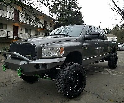 2007 Dodge Ram 3500 SLT 2007 Dodge Ram 3500 4x4 Mega Cab 6.7 Cummins 6-speed Manual!!!
