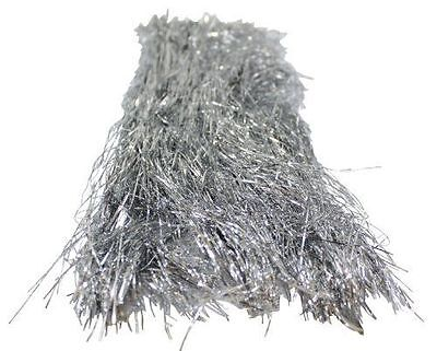 Brite Star Silver 18 Inches Long Icicles Tinsel 1500 Strands New Made in USA