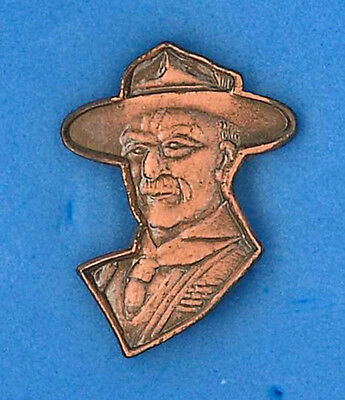 SCOUTS OF HONG KONG (HK) - World Scout Founder Lord Baden Powell Metal Pin Patch