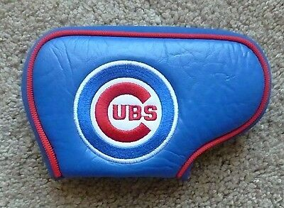Chicago Cubs MLB Licensed Blade Putter Golf Club Head Cover Embroidered