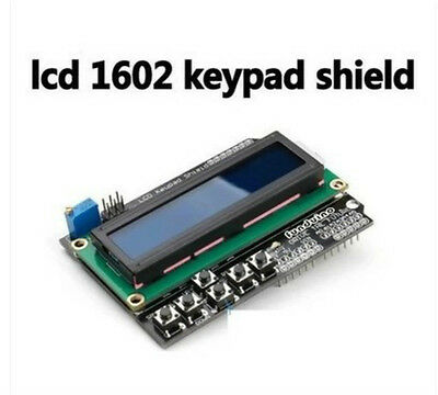 1602 LCD LCD1602 Keypad Board Shield Blue Backlight For Arduino Mega2560 UNO R