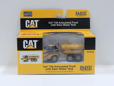 1:87 Cat 730 Articulated Truck with Klein Water Tank Norscot 55141
