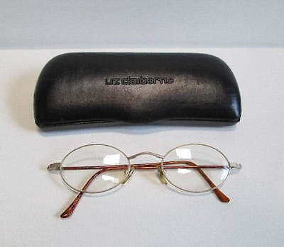Liz Claiborne LC-153 Gold Eyeglasses Frame Made in Italy