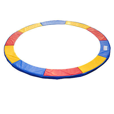 HomCom Φ12ft Trampoline Pad Spring Safety Replacement Cover Gym Bounce Jump EPE