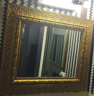 Antique gold framed mirror Shipping available