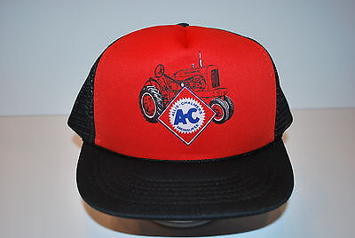 Very nice Allis Chalmers AC Logo with WD Tractor Hat Cap Never worn