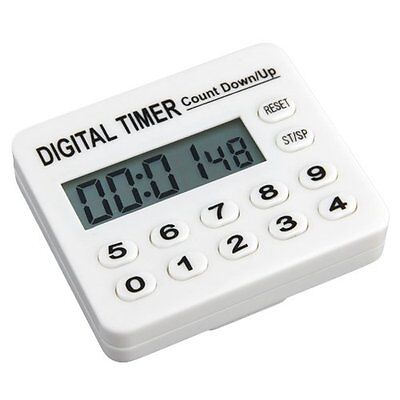 Home Kitchen Cooking Digital Count Down Up Timer AlArm A7U2