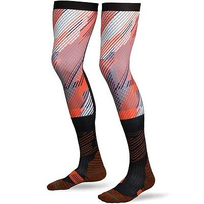 NEW Stance MX K-ROC Roczen Long Motocross Compression Moto Knee Brace Socks 9-12