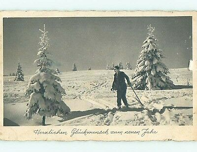 Divided-Back SKI - SKIING DOWN THE HILL IN GERMANY t3071