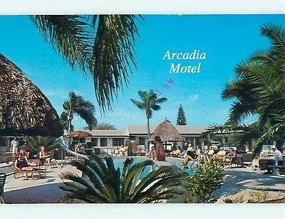 1981 Arcadia Motel Clearwater Florida FL s8815