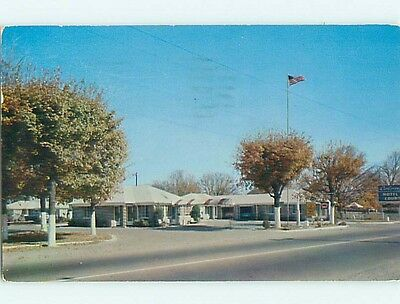 1950's COLONY COURTS MOTEL Nashville Tennessee TN s9308