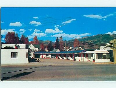 1950's STEAMBOAT MOTEL Steamboat Springs Colorado CO s9454